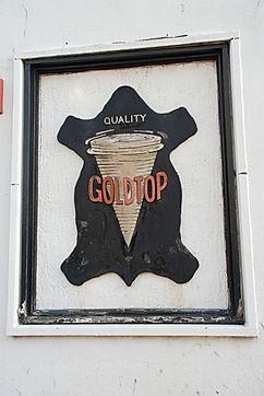 Goldtop Sign