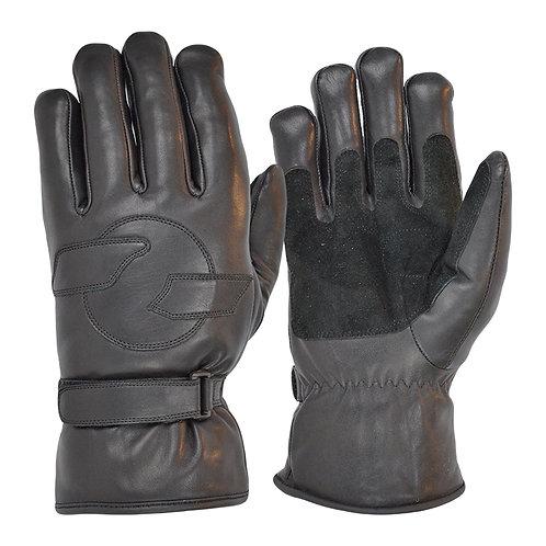 Merino Wool Lined Cruiser Gloves - Black