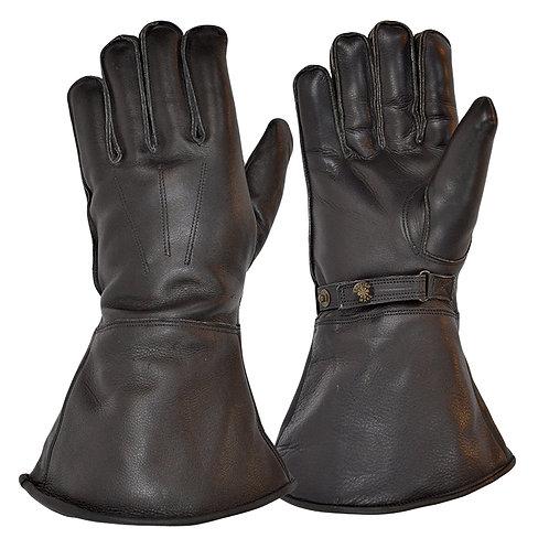 Merino Wool Lined Gauntlet - Black