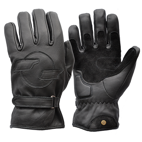 Fleece Lined Cruiser Gloves V2 - Black