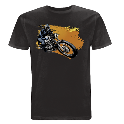 T-Shirt #004 - Ash Black