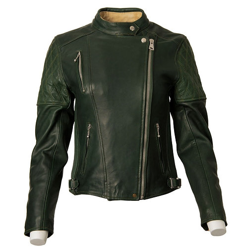 Ladies Bobber Jacket - Racing Green