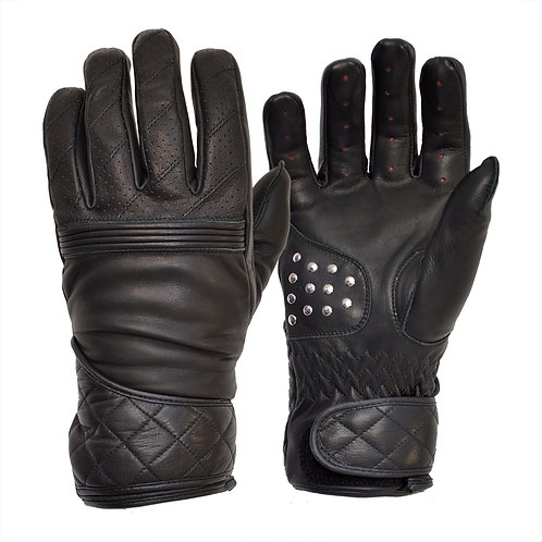 The Flat Tracker Racing Glove - Black