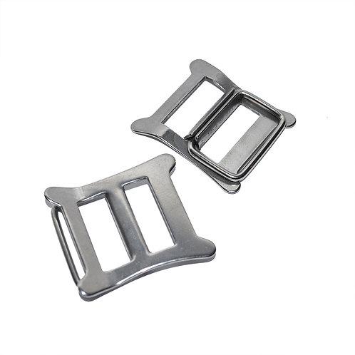 Stainless Steel Buckles (Pair)