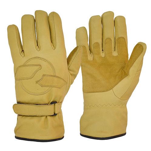 Fleece Lined Cruiser Gloves - Tan