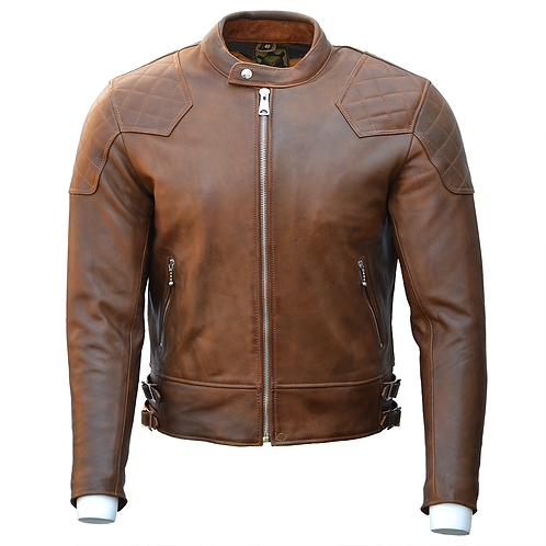 The '76 Cafe Racer - Brown (CE armoured)