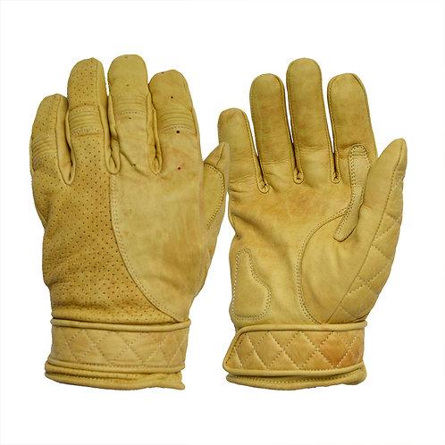 Short Cuff Bobber Gloves - Waxed Tan