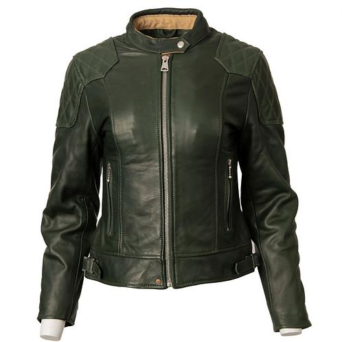 Ladies '76 Cafe Racer Jacket - Racing Green