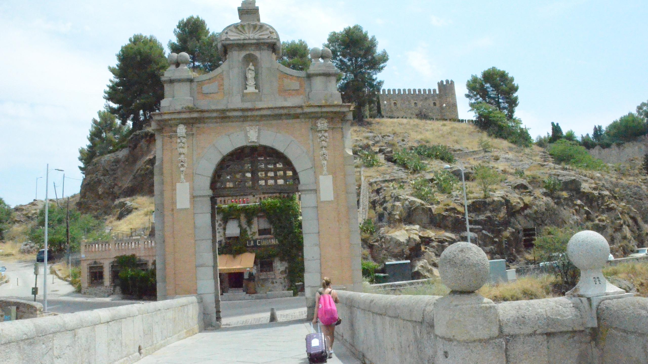 Esta é a ponte que dá acesso à cidade murada mais facilmente e mais rápido.