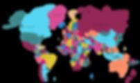 destins de viagem mapa mundi