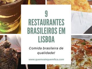 9 restaurantes brasileiros em Lisboa