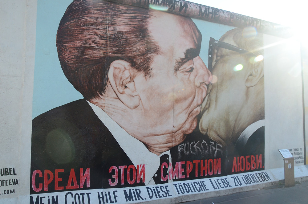beijo muro de berlim