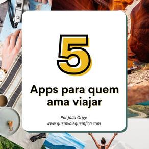 5 apps para quem gosta de viajar
