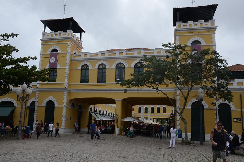 mercado público no centro de florianópolis