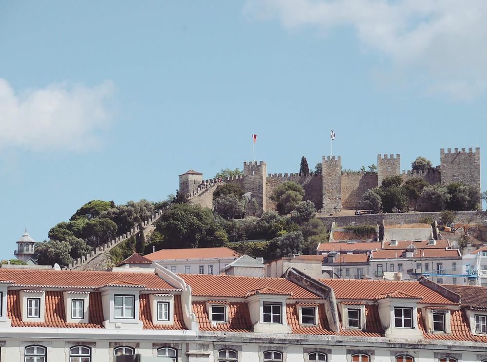 Castelo de São Jorge - Vista do Rossio