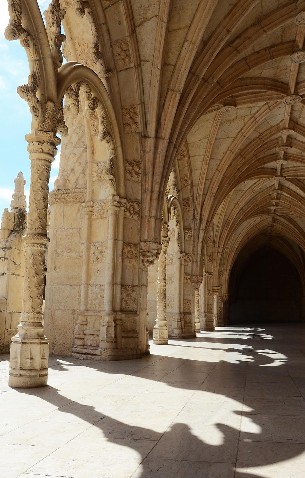 Claustro Mosteiro dos Jerónimos lisboa