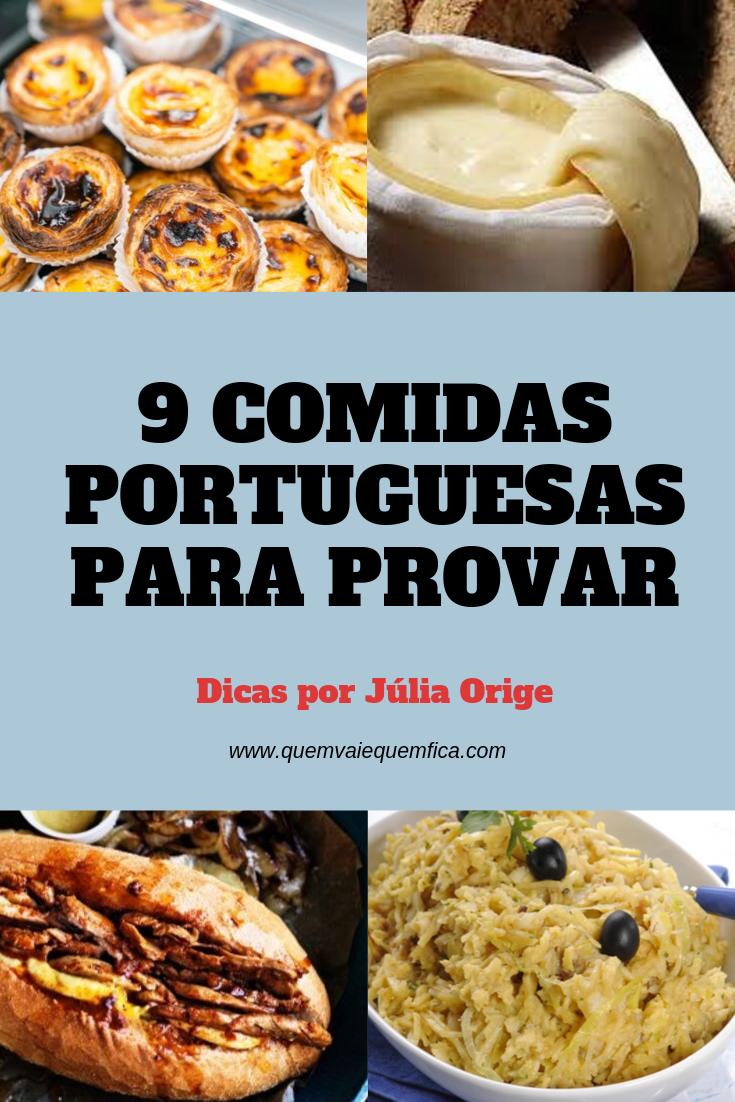 comidas portuguesas