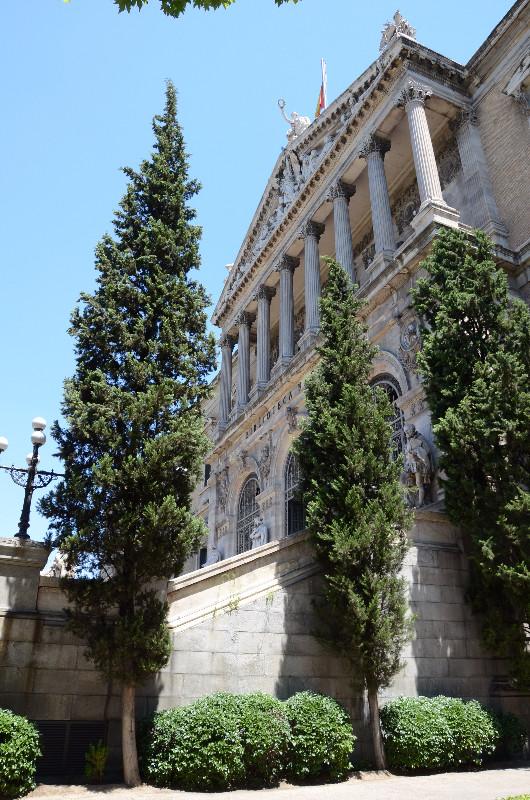 biblioteca nacional madrid