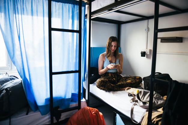 8 benefícios do hostel