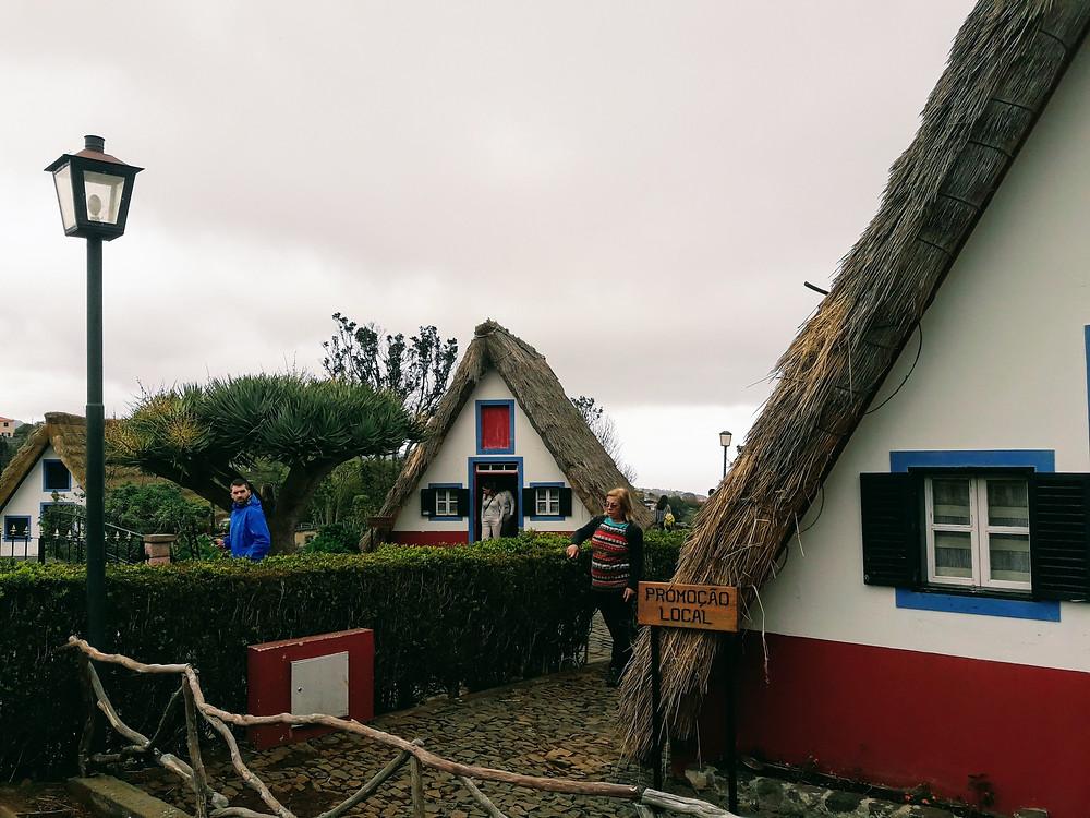 casinhas de santana madeira