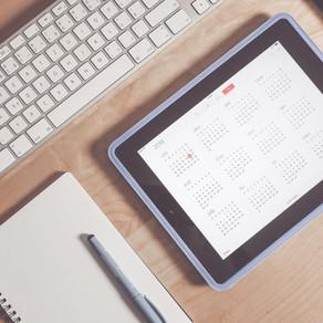 Calendário 2021: Você já começou a planejar o novo ano?