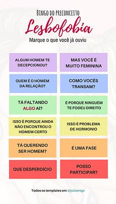 template lesbofobia