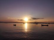 Pôr do sol em Santo Antônio de Lisboa