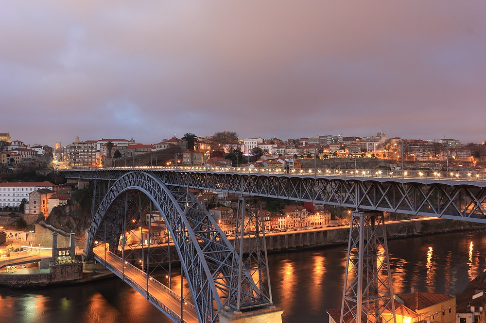 ponte D luis no porto