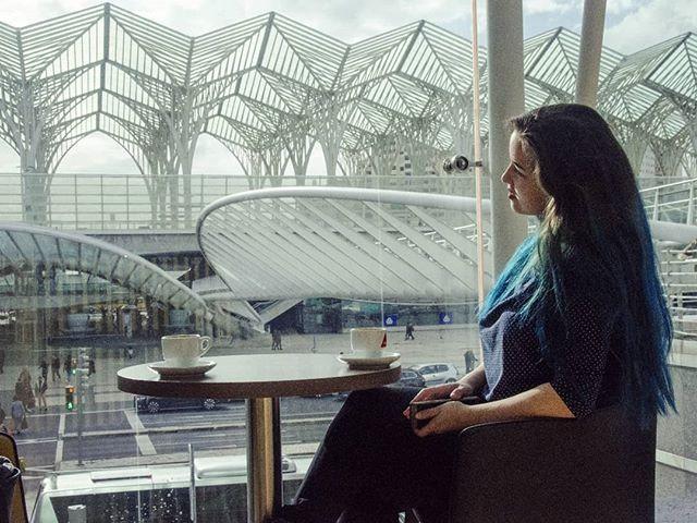 estação de trem em Lisboa