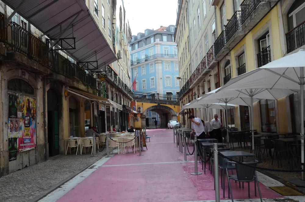 Rua Rosa em Lisboa