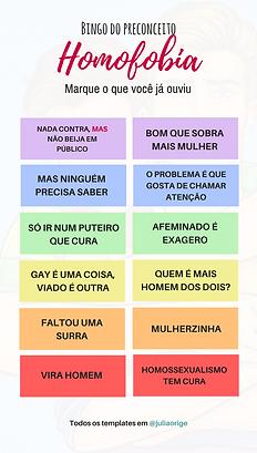 template homofobia