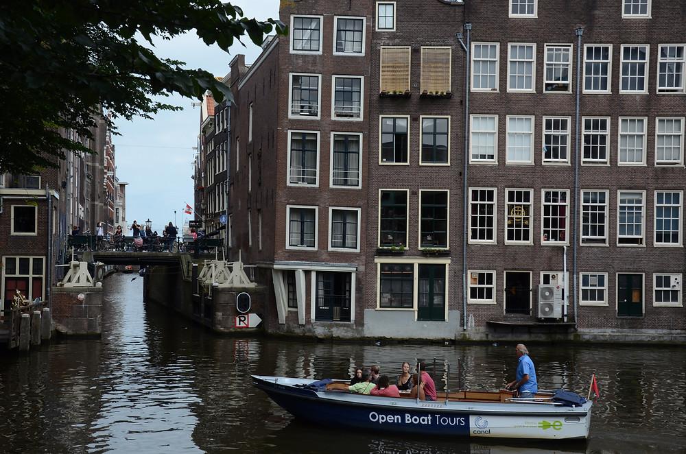 passeio de barco amsterdam