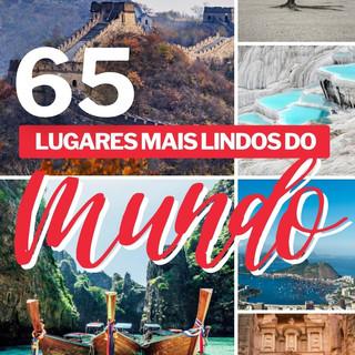 Os 65 lugares mais lindos do mundo (COM FOTOS)