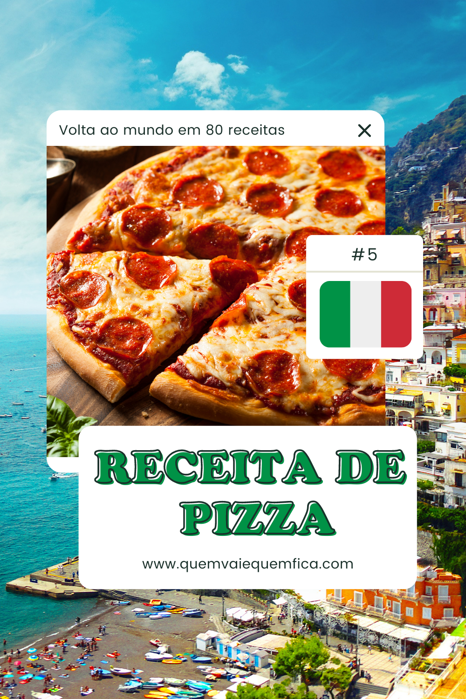 receita de pizza italiana