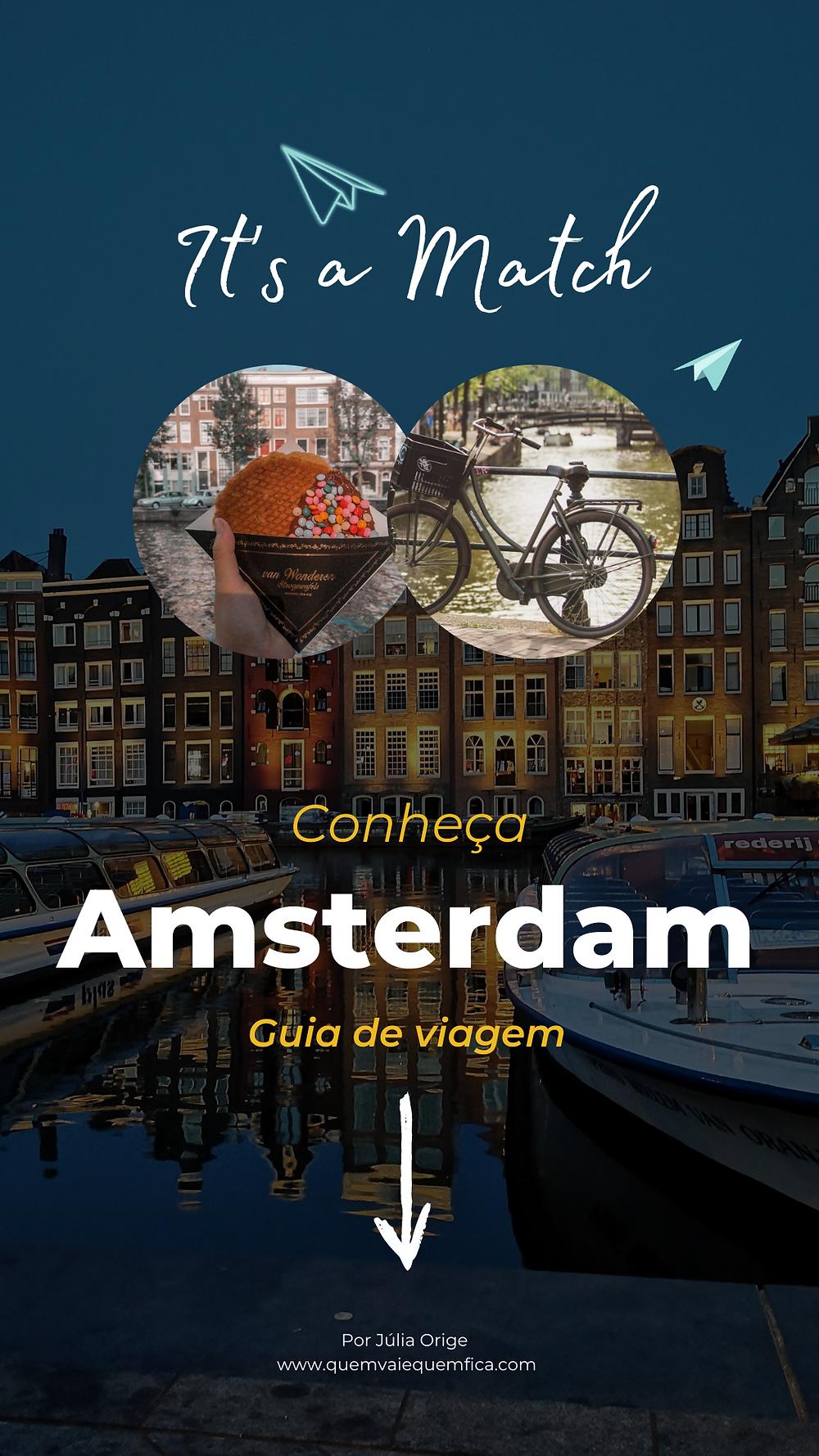 Guia de viagem Amsterdam