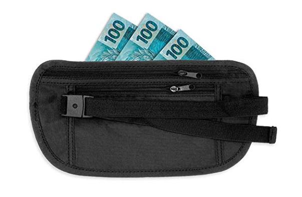pochete de viagem