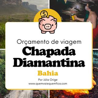 Chapada Diamantina: orçamento de viagem 5 dias
