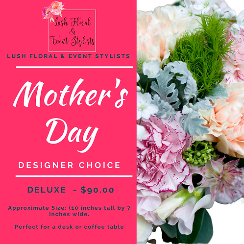 Mother's Day Arrangement - Deluxe (Medium)