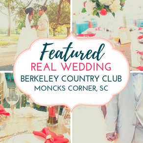 Vibrant and Romantic Coral Wedding at Berkeley Country Club