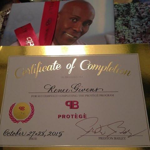 Preston Bailey Wedding Protege Certification