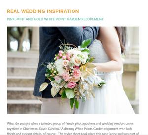 Lush Floral & Event Stylists Charleston Wedding Florist Charleston SC A Lowcountry Wedding