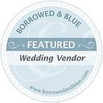 Borrowed and Blue Weddings Wedding