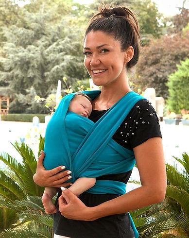 esnek wrap sling yenidoğan bebekler için anneler pratik bebek taşıma