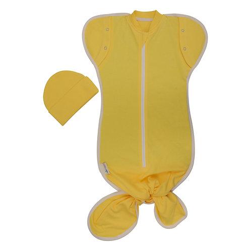 loved sarı bebek kundak önden görünüm