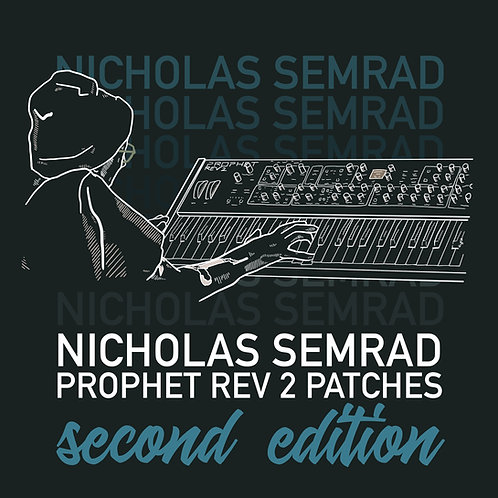 """Nick Semrad's Sequential Rev 2 """"2nd EDITION"""" Patch Set"""
