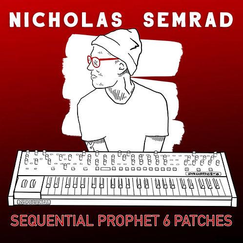 Nick Semrad's Sequential Prophet 6 Patch Set