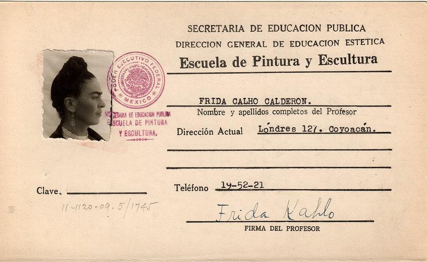 Frida Kahlo 1943 kardex.jpg
