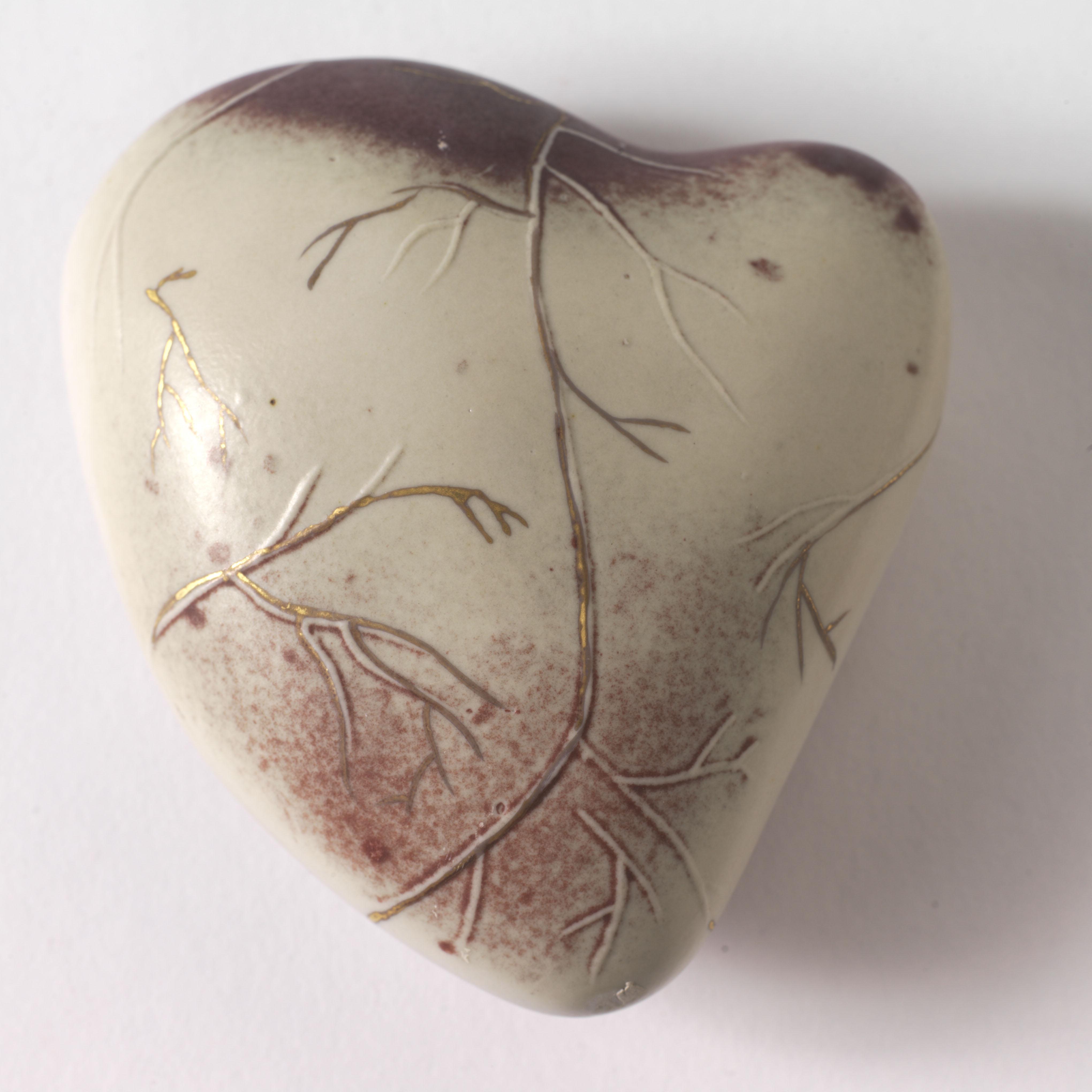 Slip Cast Heart