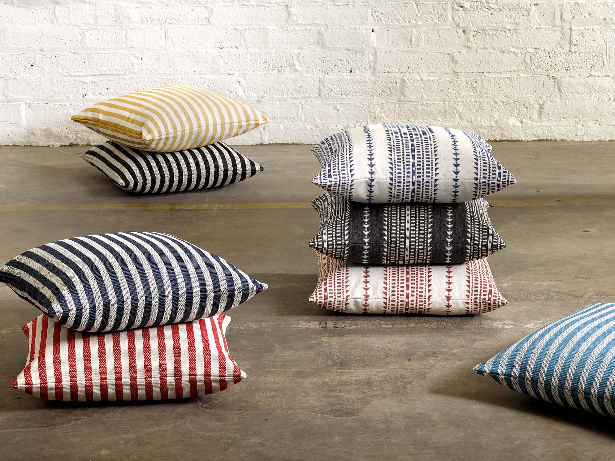 Riviera Stripe and Meridian Stripe