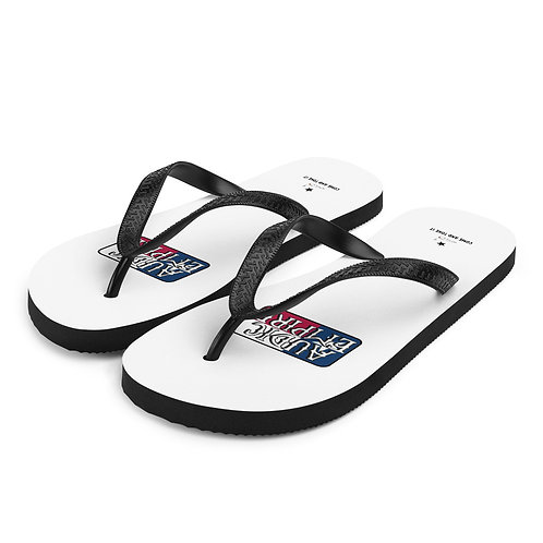 Texas Come and Toke It Logo Flip-Flops